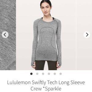 Lululemon Swiftly Tech *Sparkle - Size 6